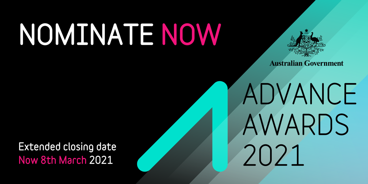 Advance Awards 2021 - Nominations open until 8 March